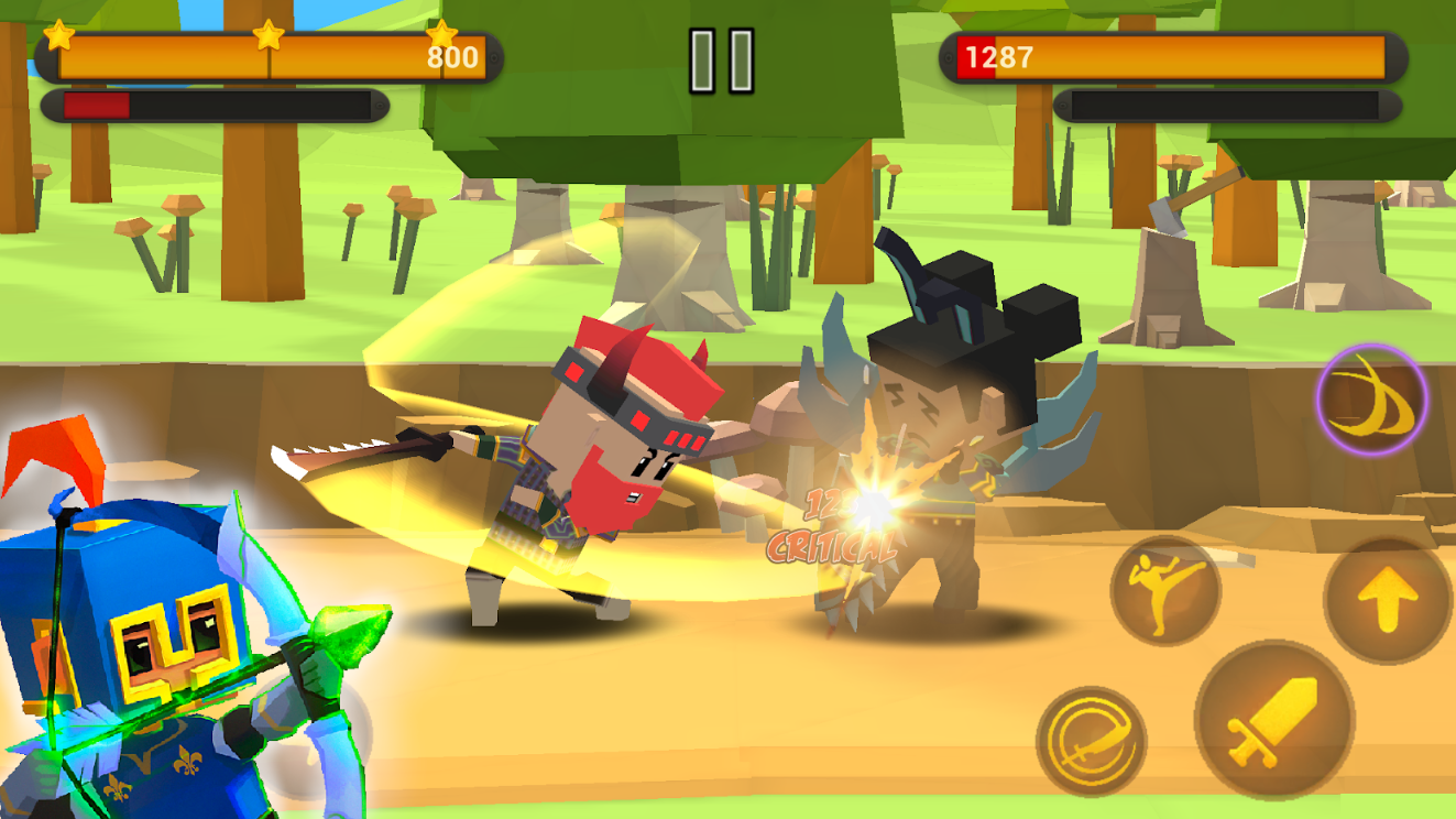 Download Game Battle Flare Mod Apk Unlimited Coins dan Gems  Terbaru